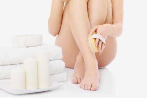 bacak fırçalama
